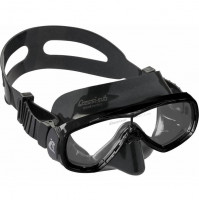 Onda Mask - Black Silicone & Frame - MK-CDN207150 - Cressi