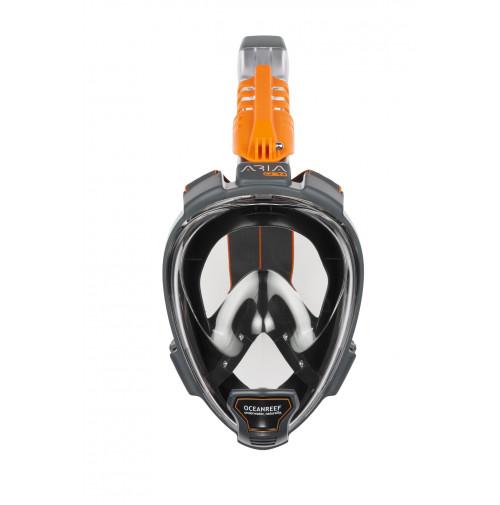 ARIA QR+ BLACK snorkeling mask - M/L - MK-OR019070 - OCEAN REEF