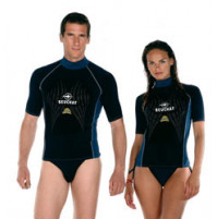 Rash Guards Short Sleeve Black - WSPB450602X - Beuchat