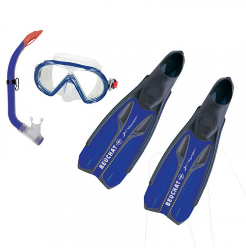 New FMS SET X-VOYAGER - Ultra Blue - ST-B100996 - Beuchat