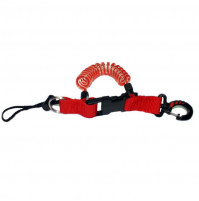 Console/Torch Spiral Lanyard - Red - ACC-VAR-0010 - Metalsub