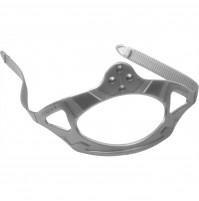 Silicone Strap for Crystal Masks - Silver Color - MKPCDZ215002 - Cressi