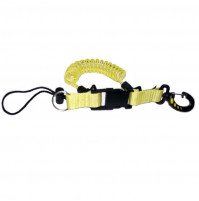 Console/Torch Spiral Lanyard - Yellow - ACC-VAR-0012 - Metalsub