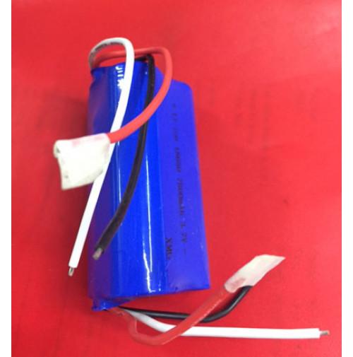 "Set of 3 Lithium Li-ion Batteries ""18650"" for  F8 Diving Flashlight - THPABF8 - AZZI SUB"