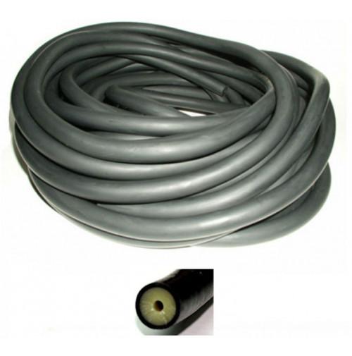 16mm/17mm Bulk Band Rubber Black/yellow (per Cm) - RUBB121133X  - Beuchat