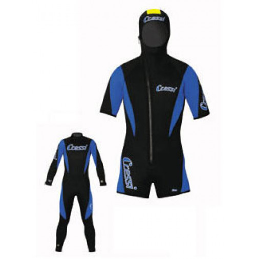 """Lontra Wetsuit """" Overall + Shorty 5mm"""" - WS-CLR101005 - Cressi"""