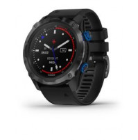 Descent Mk2i, Titanium Carbon Grey DLC with Black Band - 010-02132-11 - Garmin
