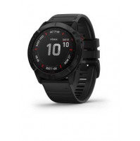 fēnix 6X Pro, Black with black band - 010-02157-01 - Garmin