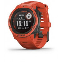 Instinct Solar - Flame Red Color - 010-02293-20 - Garmin