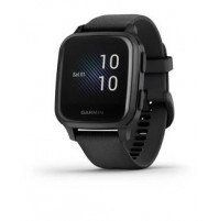 Venu Sq – Music Edition - Slate Aluminium Bezel with Black Case and Silicone Band - 010-02426-10 - Garmin