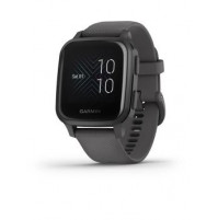 Venu Sq - Slate Aluminium Bezel with Shadow Grey Case and Silicone Band - 010-02427-10 - Garmin