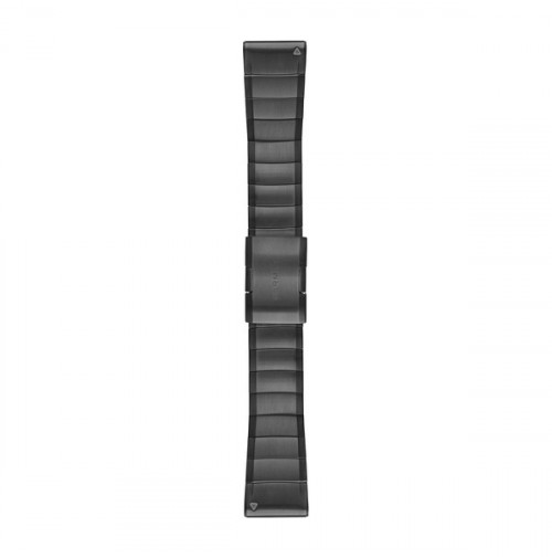 QuickFit Watch Bands for fēnix 5X Plus - Carbon Gray DLC Titanium - 26 mm - 010-12741-01 - Garmin