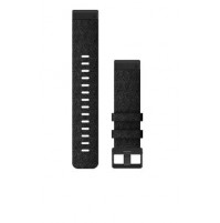 QuickFit Watch Band for fēnix 6 - Heathered Black Nylon - 22 mm - 010-12863-07 - Garmin