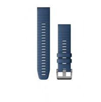 QuickFit Watch Bands for Quatix 6 - 22 mm - Captain Blue Silicone - 010-12863-21 - Garmin