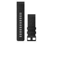 QuickFit Watch Bands for fēnix 6X - Heathered Black Nylon - 26 mm - 010-12864-07 - Garmin