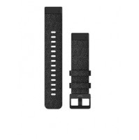 QuickFit Watch Bands for fēnix 6S - 20 mm - Heathered Black Nylon with Black Hardware - 010-12875-00 - Garmin