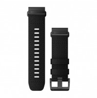 QuickFit Watch Bands for Tactix Delta - Nylon Black - 26 mm - 010-13010-00 - Garmin