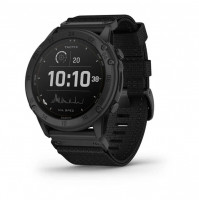 tactix Delta - Solar Edition Solar-powered tactical GPS watch with nylon band - 010-02357-11 - Garmin