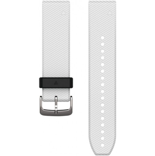 QuickFit Watch Band 22mm  - For approach S60 - White Silicone Band - 010-12500-01- Garmin