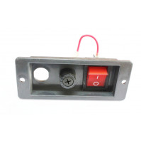 Red Power Button for Treadmill 0902 - BT0902 - Tecnopro