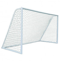 Mini Football Goal Post Nets - By Pair in Poly-Bag - White - SPT-N110 - AZZI