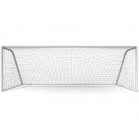 Football Goal Post Nets - BY Pair in poly-bag - White - SPT-N115 - AZZI