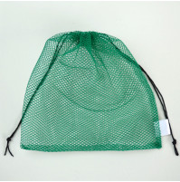 Mesh Net Bag for Volleyball, Basketball and Football - Green - SPT-NT100 - AZZI