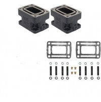 "Volvo/OMC Penta 3"" Spacer Block with mounting kit, Pair - HGE3621PR - HGE"
