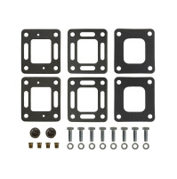 "Mounting package for MC-20-93322A3 6"" Spacer Blocks kit , Pair - MC-20-93322A3P - Barr Marine"