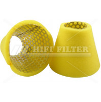 Air Filter For YANMAR MARINE 124770-12540 - Dia. 129 mm - SA12861 - HIFI FILTER