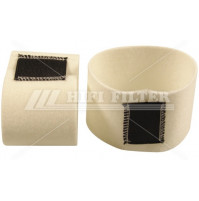 Air Filter For VOLVO-PENTA  3834294 and 3834294-5 - Dia. 440 mm - SA16570 - HIFI FILTER
