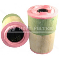 Air Filter For VOLVO-PENTA 21377915 and 21914608  - Dia. 245 mm - SA17336 - HIFI FILTER