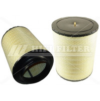 Air Filter For MTU 180945802 and for DONALDSON B 12-0472 - Dia. 317 mm - SAB120472 - HIFI FILTER