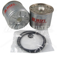 Fuel Filter For CATERPILLAR 067-6987 and for VOLVO 11993378   - Dia. 87 mm - SN001 - HIFI FILTER
