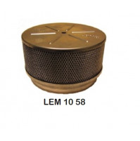 "Flame Arrestor throat diameter 5 1/8"" and height 3 1/4"" - LEM-10-58 - Barr Marine"