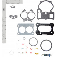 Inboard Marine Carburetor Tune-Up Kits for (H-4) MERCRUISER #1396-4656; OMC #982537, 982538  - WK-19014- Walker products