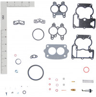 Inboard Marine Carburetor Tune-Up Kits for (R-2) MERCRUISER #1397-2072, 1397-2637, 1397-3464, 1397-7542, 1397-7543, 1397-8872, 8264271; OMC #383615, 982384 - WK-19029- Walker products
