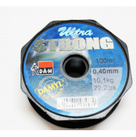 Ultra Strong Fishing Line - Olive color - 100 M - 3454-040 - D.A.M