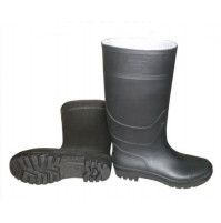 Farmer PVC Rain Boots Black Color - RBG00N0N000 - AZZI Tackle