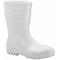 Farmer PVC Rain Boots White Color - RB0112424 - AZZI Tackle