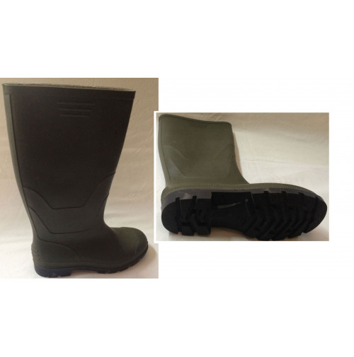 Farmer PVC Rain Boots Green Color - RBG00G1N000 - AZZI Tackle
