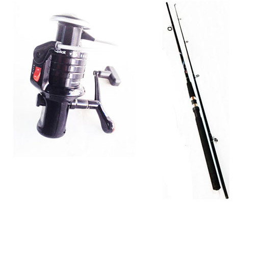 Put In Fighter 60 Spinning Rod and VIA 580 Reel Combo - 2384-302+1151-580 - D.A.M