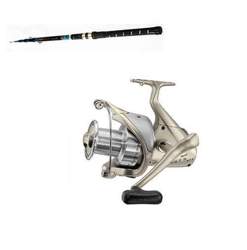 "Telescopic Carbon "" YUKON Composite 80 "" Rod and Futura 880 FD Reel Combo - 2256-450+1003-880 - D.A.M"