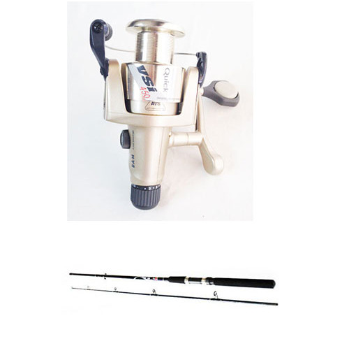 Put In Fighter 100 Spinning Rod and VSI 450 Reel Combo - 2390-211+1115-450 - D.A.M