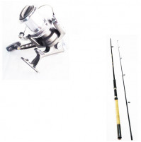 Carbon Put In Special 30 Spinning Rod and Distance 860 FD Reel Combo - 2913-300+1015-860 - AZZI Tackle