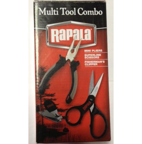 MTC-GBX, Combo Multi Tool Pack - RAPPMTCGBX - Rapala